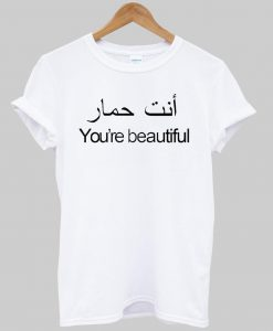 you are beautiful T shirt