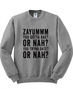 zayummm sweatshirt