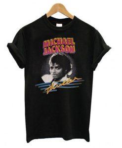 1982 MICHAEL JACKSON THRILLER T Shirt KM