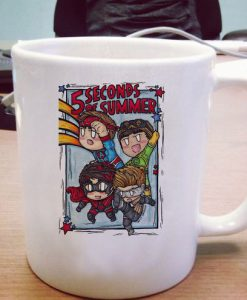 5 second of summer Ceramic Mug KM