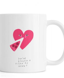 A Pizza My Heart Mug KM