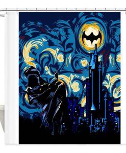 BATMAN Dark Knight Shower Curtain KM