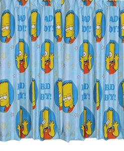 Bart Simpson Shower Curtain KM