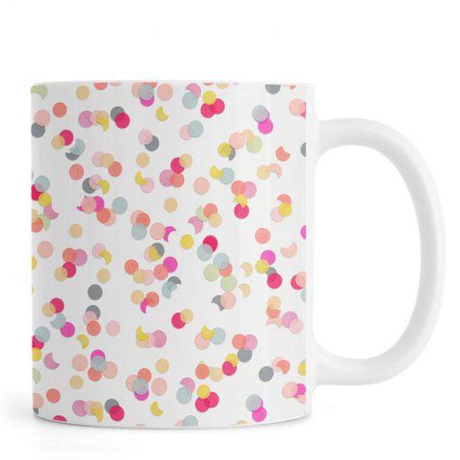 Confetti Mix Pink Mug KM