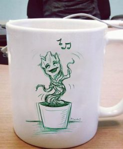 I am baby groot singing Ceramic Mug KM