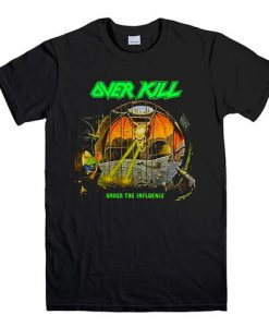 OVERKILL METAL ROCK BAND T SHIRT KM