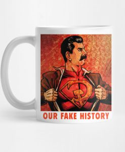 Our Fake History Mug KM