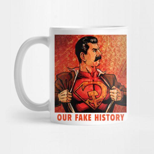 Our Fake History Mug KM