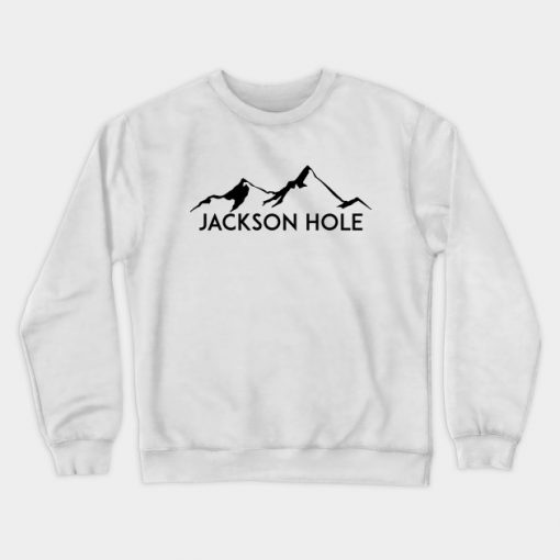 Skiing Jackson Hole Wyoming Sweatshirt KM