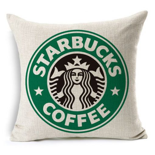 Starbuck Coffee Pillow KM