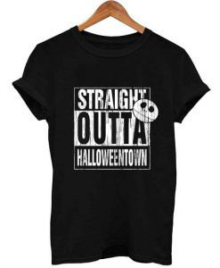 Straight Outta Halloweentown T Shirt KM