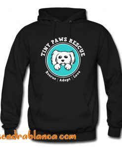 Tiny Paws Official Logo Hoodie (KM)