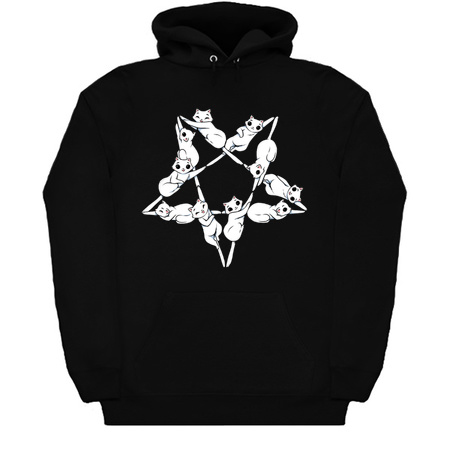 Where the cats go at night Hoodie (KM)