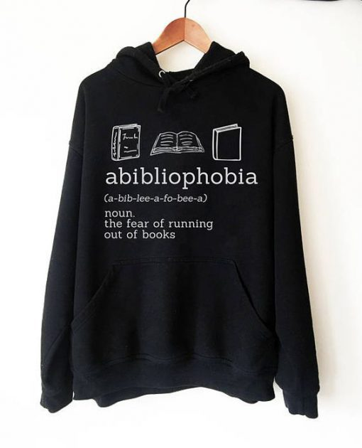 Abibliophobia Hoodie KM