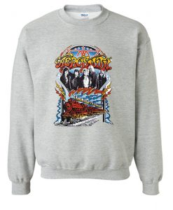 Aerosmith Train Kept a Rollin Sweatshirt (KM)