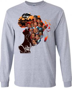 African American My Roots T-shirt For Melanin Queens Sweatshirt KM