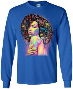 African American Queen Sweatshirt KM