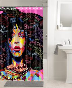 Afro Afrocentric Shower Curtains KM