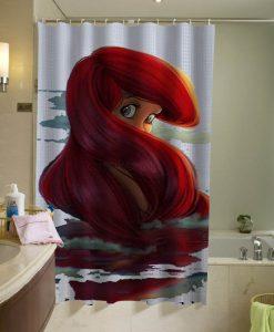 Ariel Disney shower curtain KM
