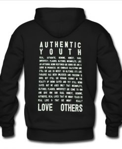 Authentic Hoodie Back KM