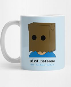 Bird Defense Mug KM