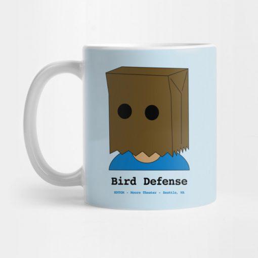 Bird Defense Mug KM
