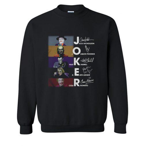 JOKER Crossword Halloween Sweatshirt KM