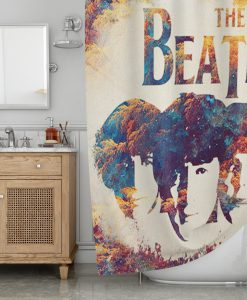 The Beatles Shower Curtain KM