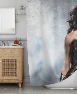 The Wonder Woman Shower Curtain KM