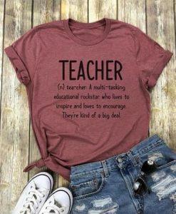 Women Teacher T-Shirt KM