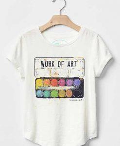 Work of Art T Shirt KM