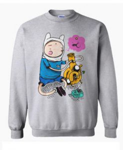 Adventure Time Bongs Sweatshirt KM