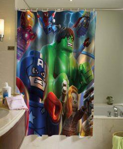 Avengers Shower Curtain KM