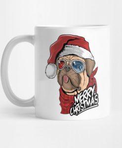 Dog Merry Christmas Mug KM