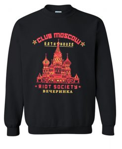 Riot Society Club Moscow Sweatshirt KM