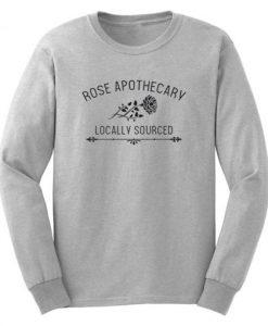 Rose Apothecary Schitt's Creek Sweatshirt KM