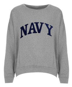 Scandal Fit NAVY Grey Sweatshirt KM