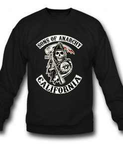 Sons Of Anarchy California Sweatshirt KM