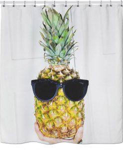 Swag Pineapple Shower Curtain KM