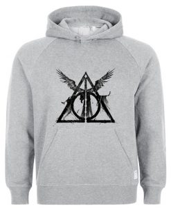 The Deathly Hallows Harry Potter Hoodie KM