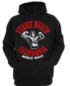 Venice Beach California Muscle Beach Hoodie KM