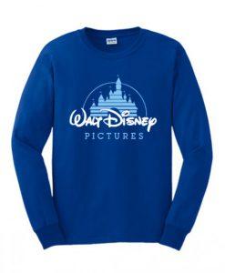 Walt Disney Pictures Logo Blue Sweatshirt KM