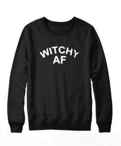 Witchy Af Sweatshirt KM