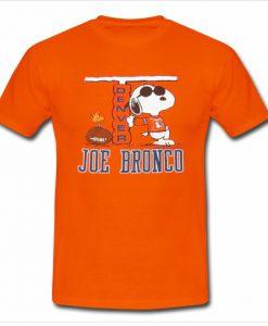 1980's Snoopy Denver Broncos T Shirt KM