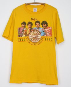1997 The Beatles Sgt Peppers 30th Anniversary T Shirt KM