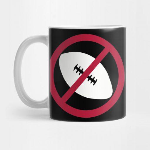 No Football Mug KM