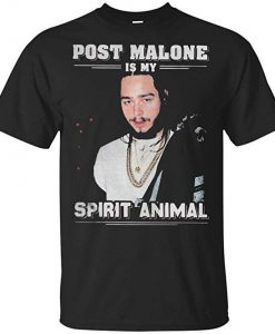 Post Malone Is My Spirit Animal T-Shirt KM