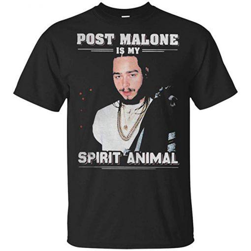 Post Malone Is My Spirit Animal T-Shirt KM