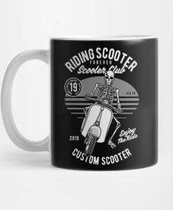 Riding Scooter Mug KM