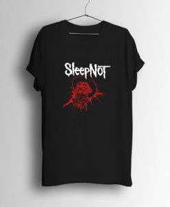 Sleep Not Freddy Krueger Parody 80s Movie T Shirt KM